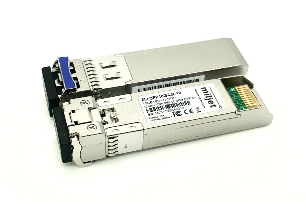 DDMI SFP+ 10Gbase-LR 1310nm 10km SFP10G-LR Compatible with ZYXEL Duplex LC